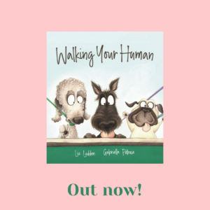 Walking Your Human Cover - out now!